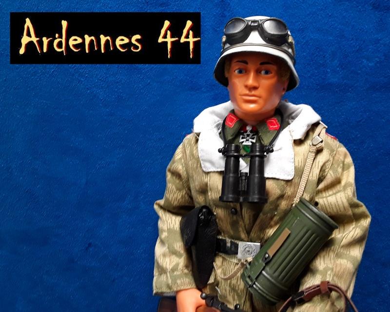 Ardennes 44-German Officer 04613