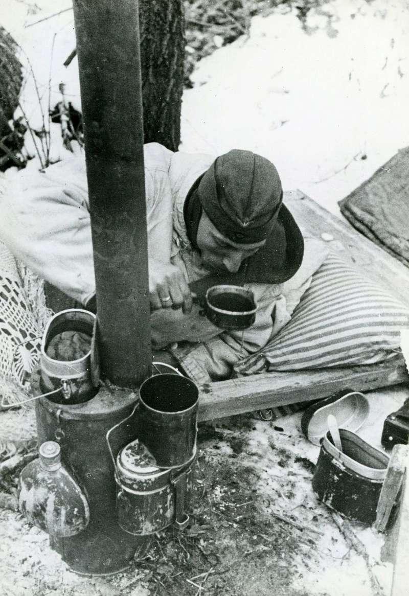 Poêle de campagne allemand Bunker10