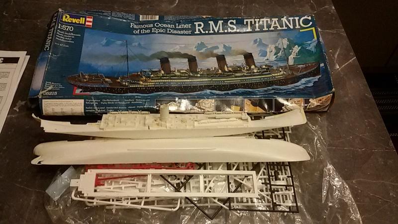 Titanic von Revell in 1/570 20170110