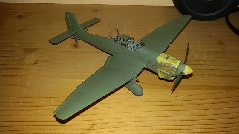 Junkers Ju 87 Stuka / Revell, 1:72 20170427