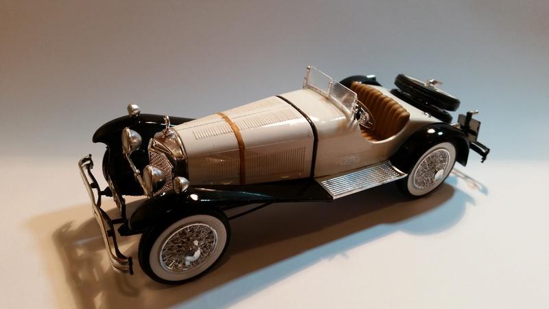 Mercedes SSK 1929, Revell 1/24 20170914