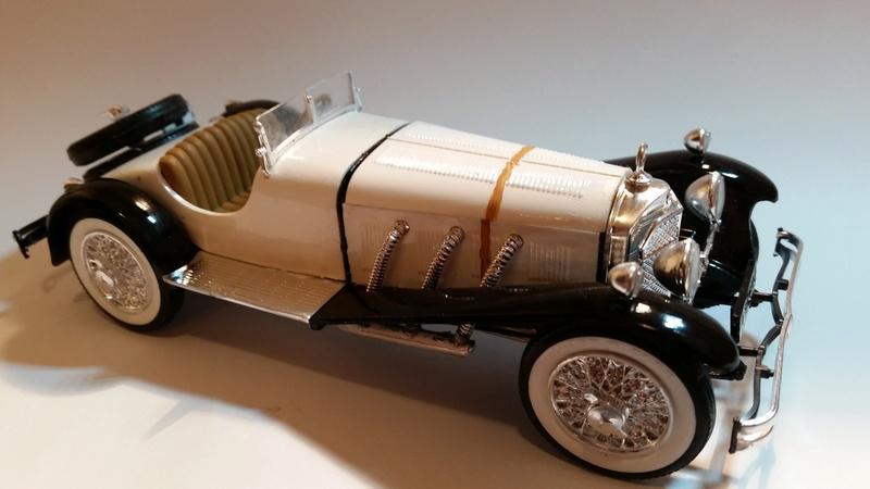 Mercedes SSK 1929, Revell 1/24 20170915