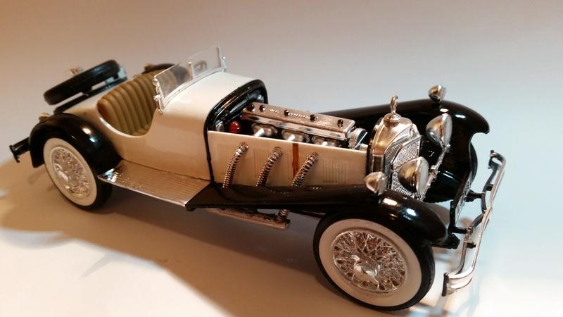 Mercedes SSK 1929, Revell 1/24 20170916