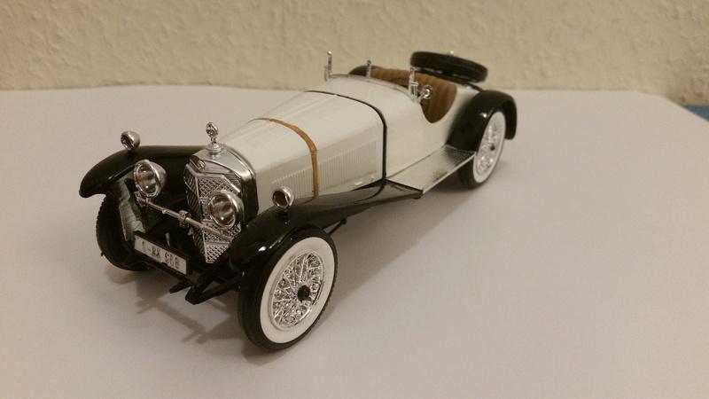Mercedes SSK 1929, Revell 1/24 20170917