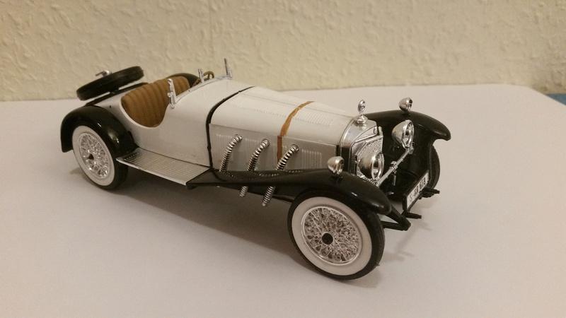 Mercedes SSK 1929, Revell 1/24 20170918