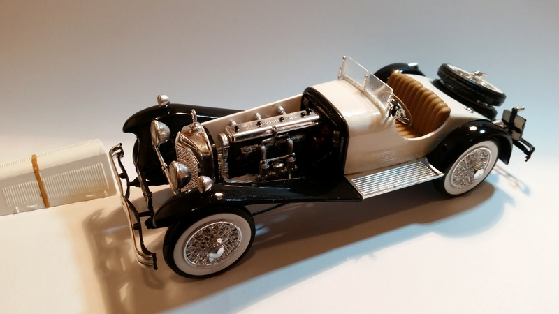 Mercedes SSK 1929, Revell 1/24 20170922