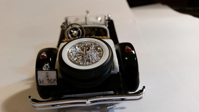 Mercedes SSK 1929, Revell 1/24 20170924