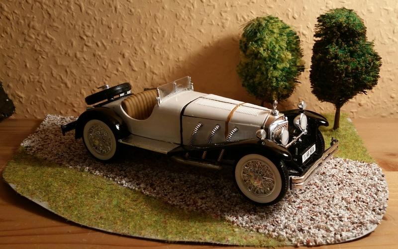 Mercedes SSK 1929, Revell 1/24 20170925