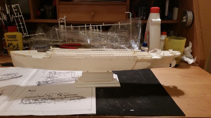 Titanic von Revell in 1/570 20170927