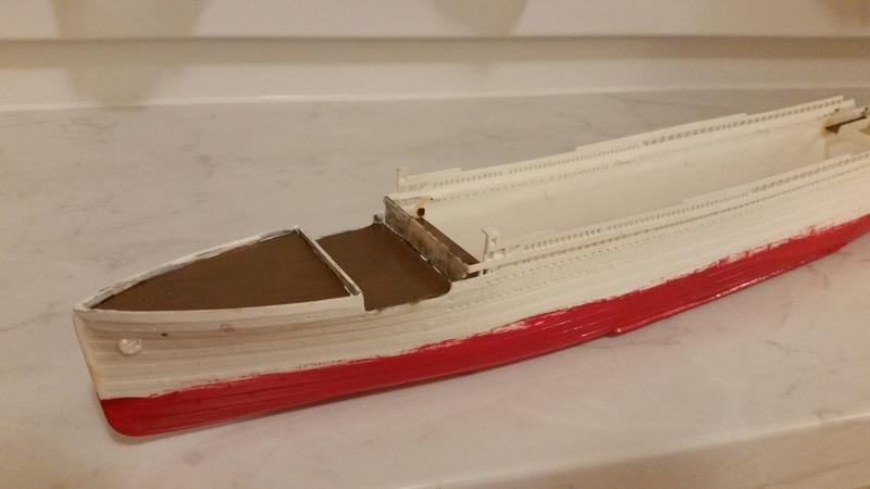 Titanic von Revell in 1/570 20170928