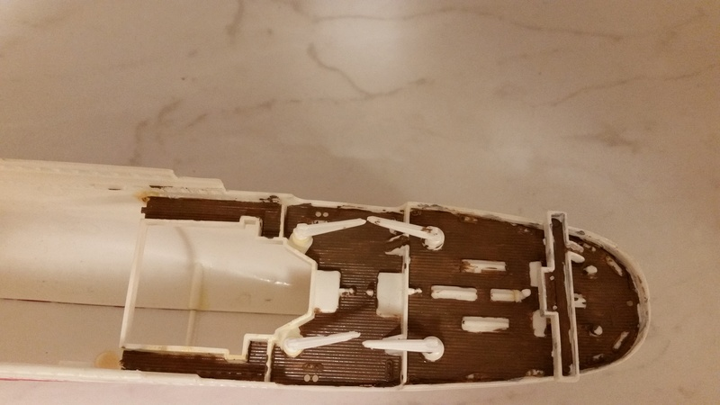 Titanic von Revell in 1/570 20170930