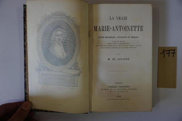 A vendre: livres sur Marie-Antoinette, ses proches et la Révolution - Page 5 11333610