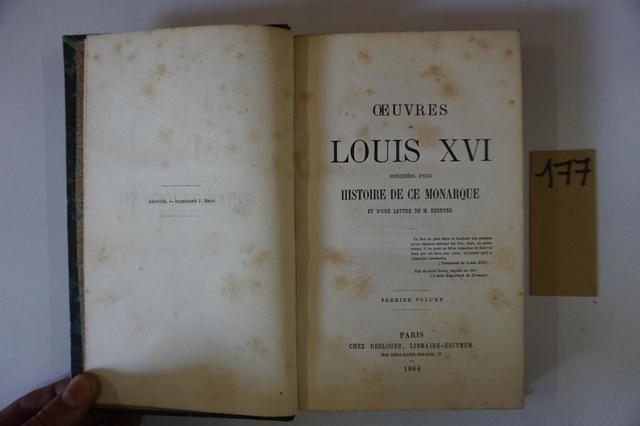 A vendre: livres sur Marie-Antoinette, ses proches et la Révolution - Page 5 11333910