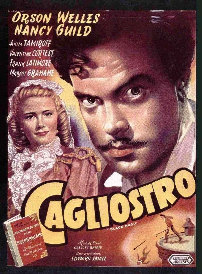 """Black Magic"" 1949 de Gregory Ratoff avec Nancy Guild Caglio10"