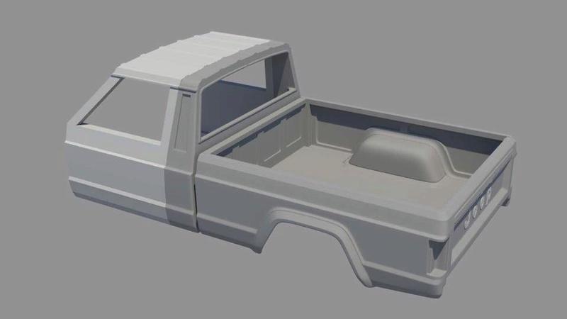 News: Hard Body Jeep Comanche MJ 19554210