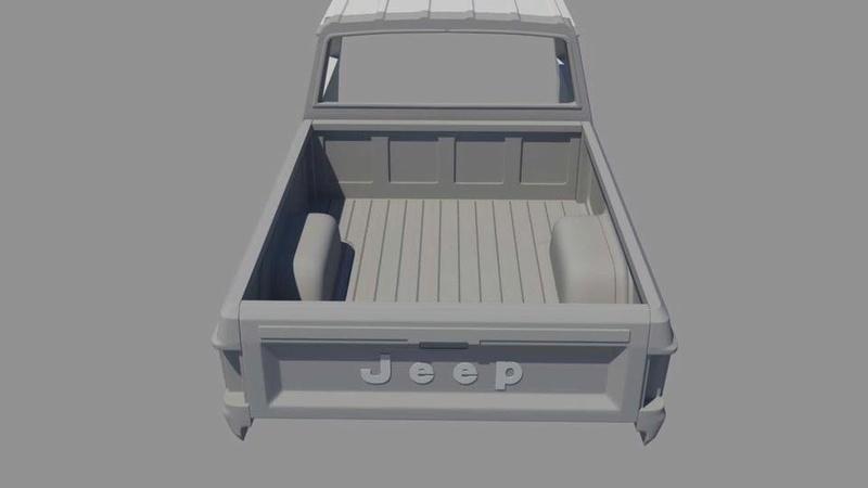 News: Hard Body Jeep Comanche MJ 19554810