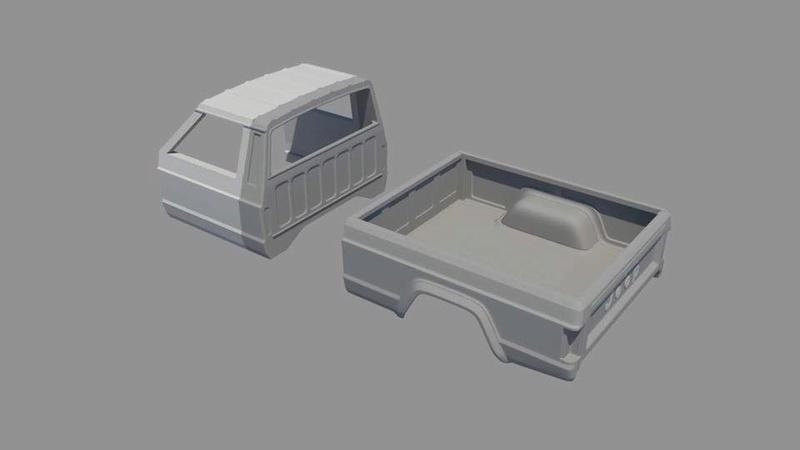News: Hard Body Jeep Comanche MJ 19748810