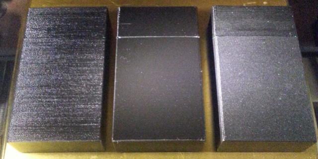 Le fond du problème, imprimante VS imprimante, slicer VS slicer 20170910