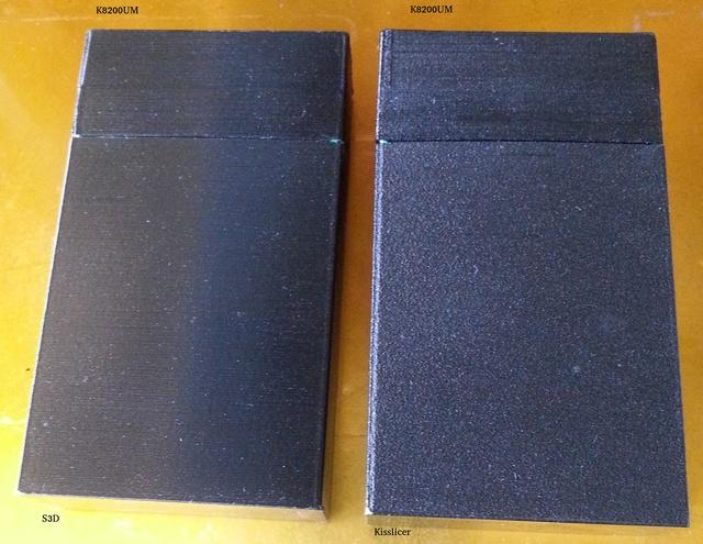 Le fond du problème, imprimante VS imprimante, slicer VS slicer S3dvsk10