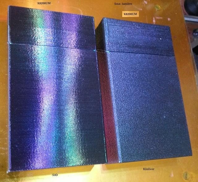 Le fond du problème, imprimante VS imprimante, slicer VS slicer S3dvsk12