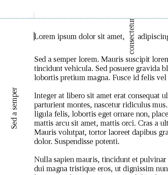Ecrire verticalement sous Open office Writer Vert10