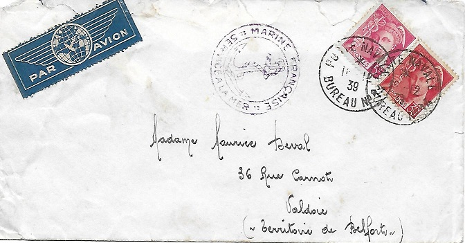 Bureau Naval N° 14 d'Ajaccio 1410