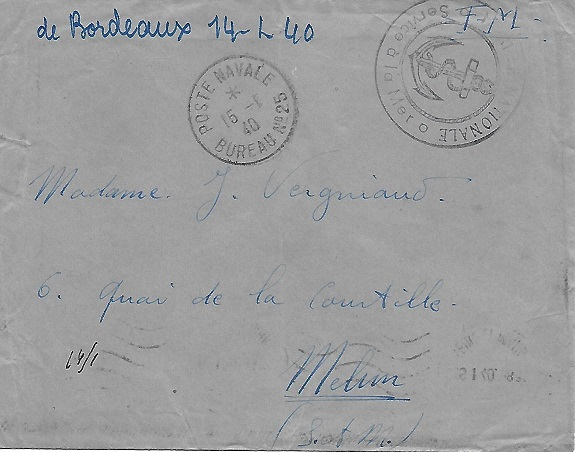 Bureau Naval N° 25 de Bordeaux 2510