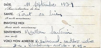 * MOUETTE (1939/1940) P4910