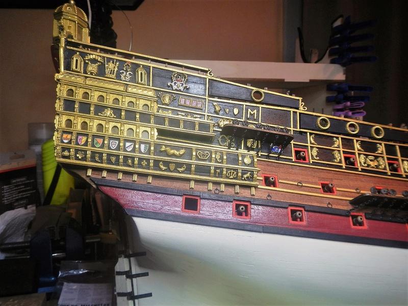 """Construction du """"Sovereign of the Seas"""" au 1/84 par Glénans - Partie II - Page 21 Dscn6267"""