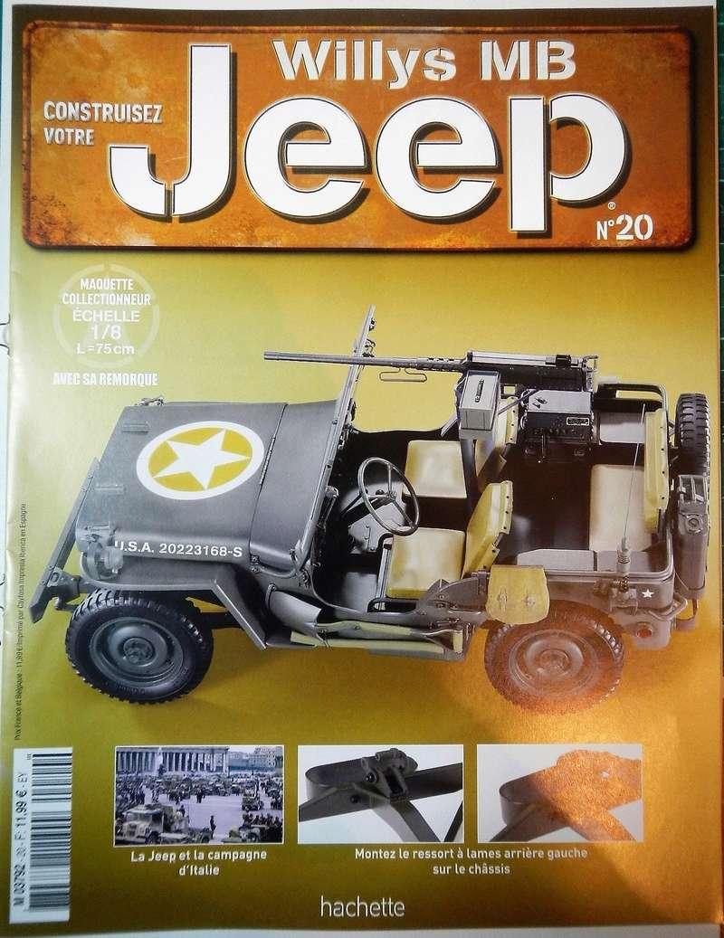 Jeep Willis Hachette au 1/8 [partie I] - Page 3 Dscn6539