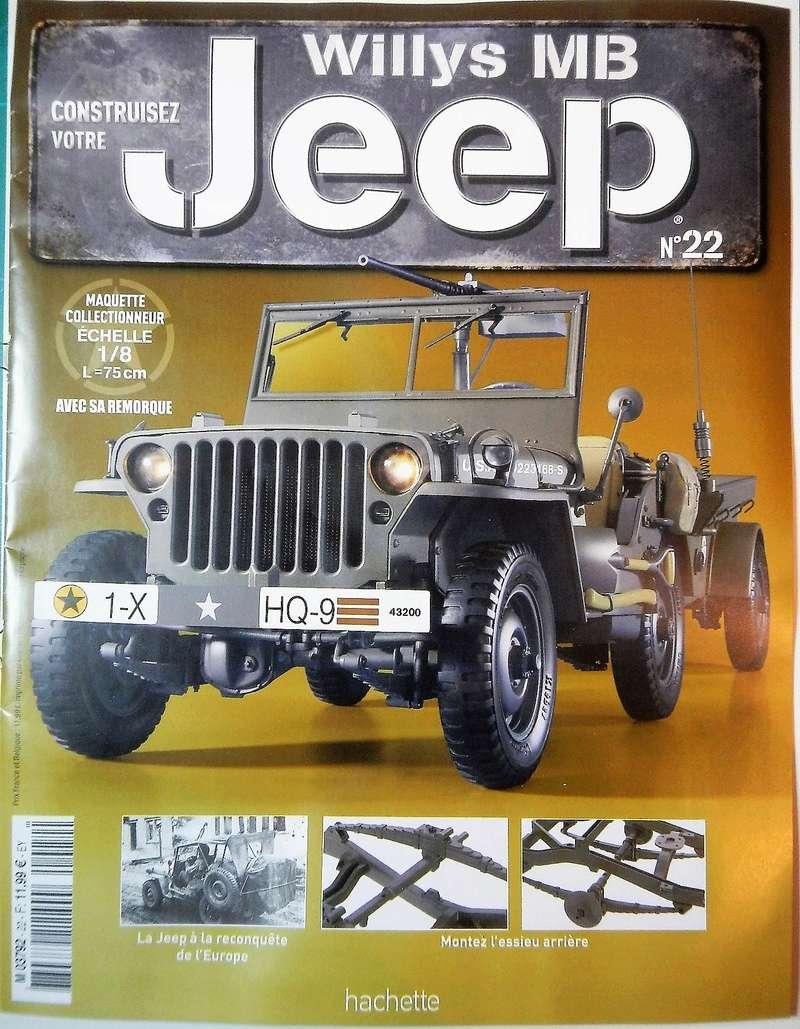 Jeep Willys - 1/8ème - Ed. Hachette - Construction par Glénans (Partie 1) - Page 5 Dscn6542