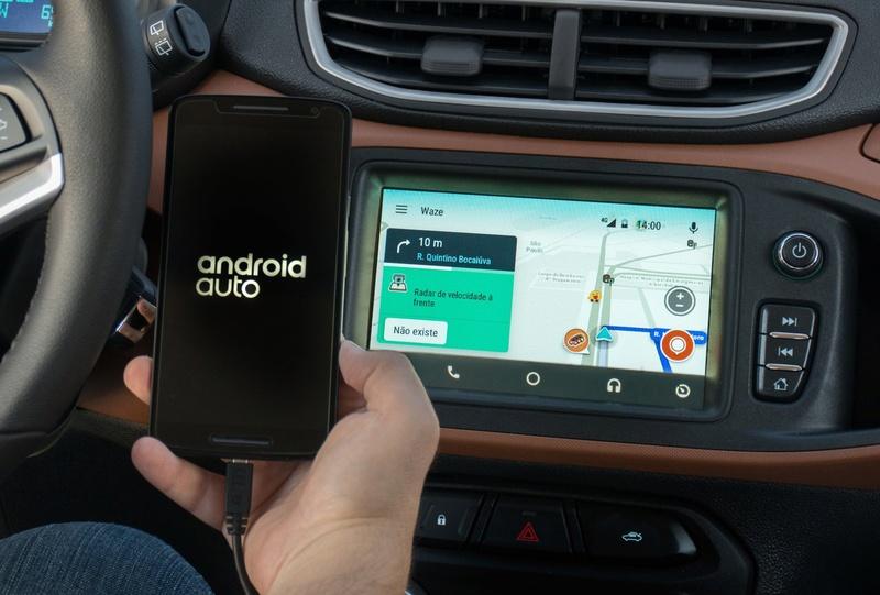 Google libera Waze para ser usado em carros com Android Auto Onix-w10