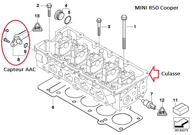 [ Mini cooper R50 1.6 115 W10 an 2003 ] Plus d'allumage après dépose boite 11_cap10