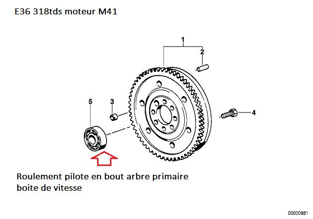 [ BMW E36 318 TDS M41 Compact an 1998 ] Frottement metalique moteur ou boite  11_m4110