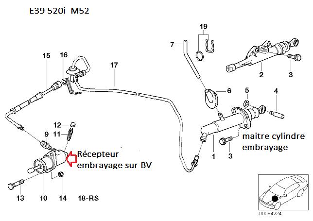 [ Bmw e39 520i m52 an 1997 ] probleme pédale embrayage 21_rec10