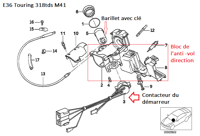 [ BMW E36 318 tds touring an 1999 ] impossible de démarrer 32_e3610