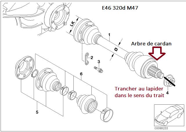 [ bmw e46 320d M47 an 1999 ] Bruit au niveau de la roue ar droite (résolu) - Page 2 33_car10