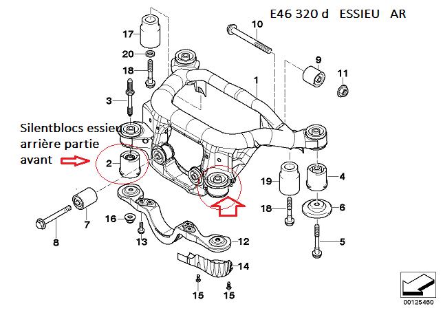 """[ BMW e46 330d M57 an 2003 ] vibration forte accélération + """"glong"""" passage vitesse (résolu) 33_ess10"""