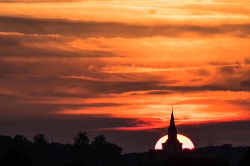 coucher de soleil la semaine dernière Couchy10