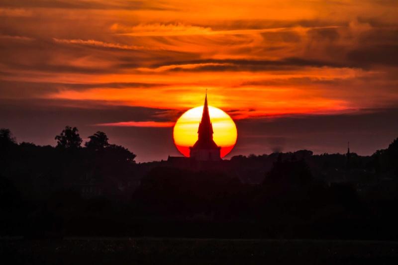 coucher de soleil la semaine dernière Couchy12