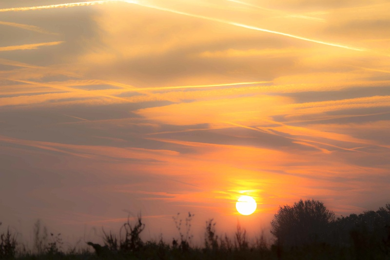 coucher de soleil la semaine dernière Couchy14