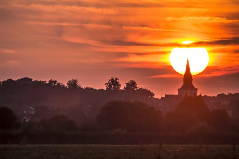 coucher de soleil la semaine dernière Couchy16