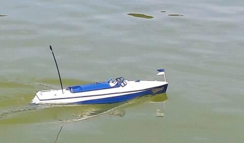 Pilote pour canot JEP Ruban Bleu N°2