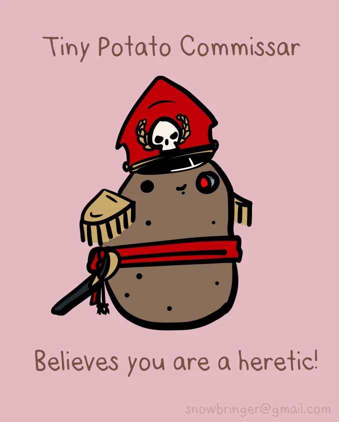 Warhammer 40K Potato11
