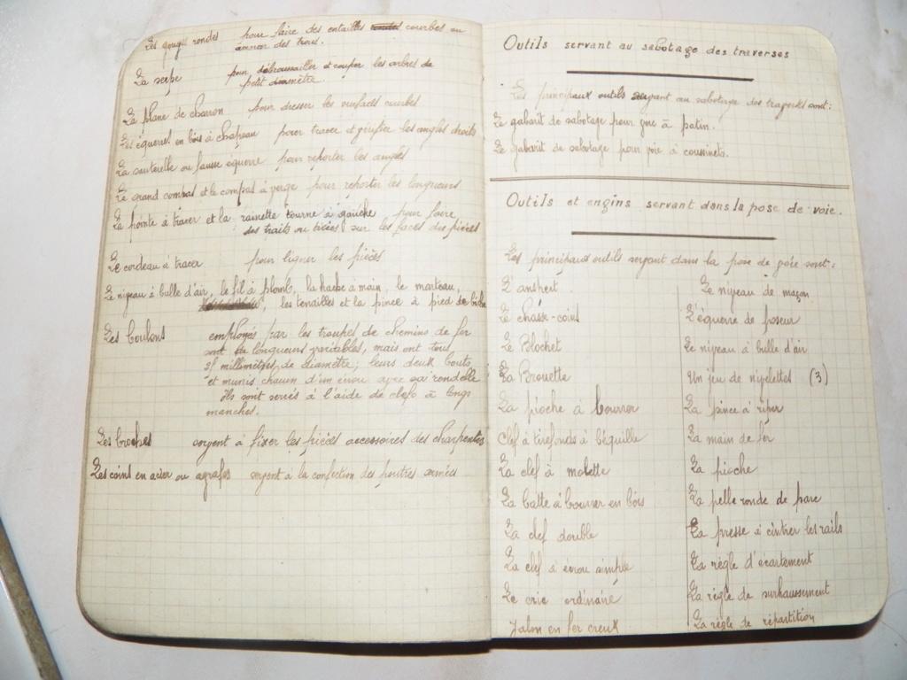5e génie, carnet de notes et photos d'un sapeur 101_0113