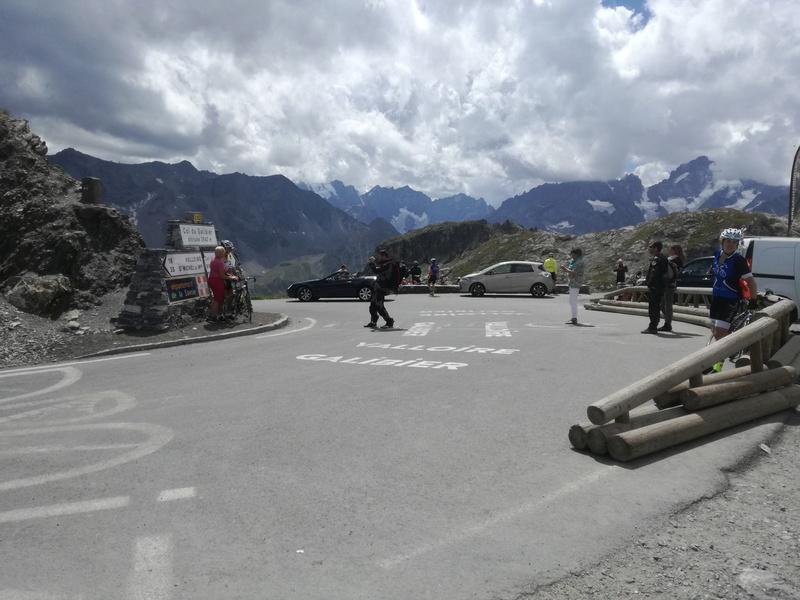 Bourgoin Jallieu - Chamonix par le Galibier, l'Iseran, et le Cormet de Roselend - 440 km Img_2011