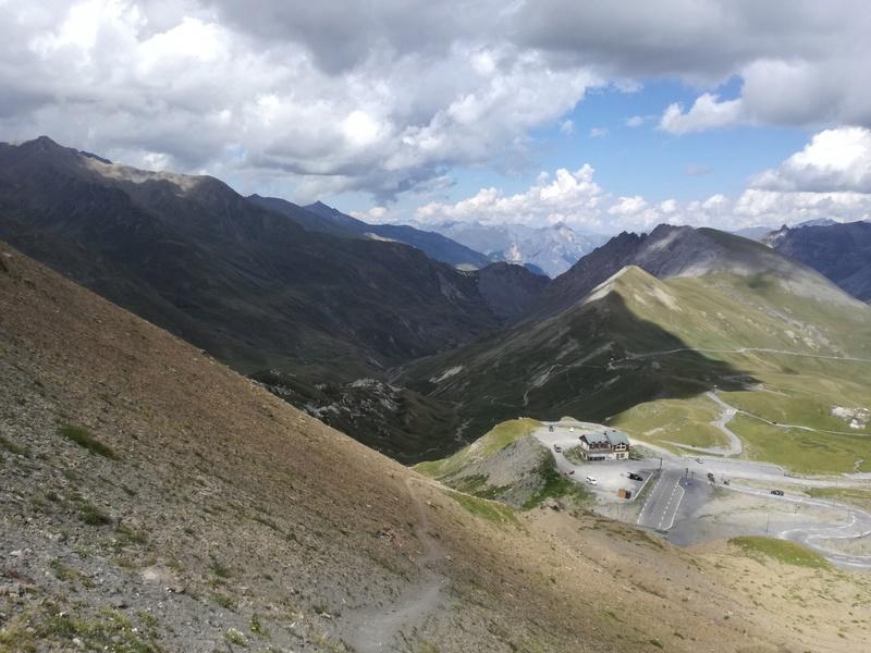 Bourgoin Jallieu - Chamonix par le Galibier, l'Iseran, et le Cormet de Roselend - 440 km Img_2013