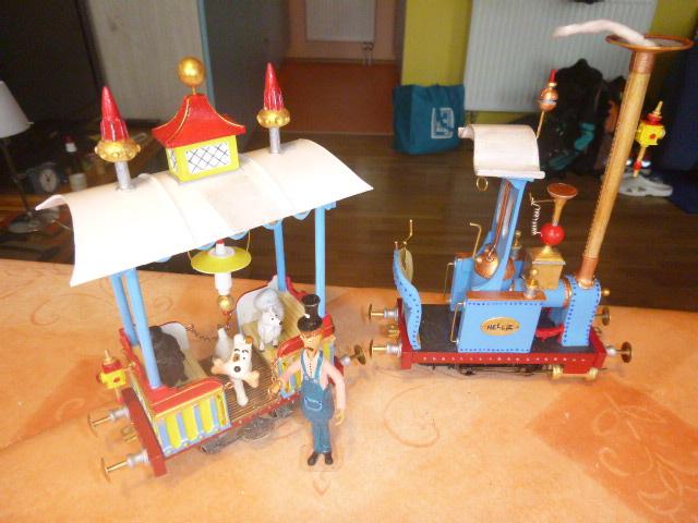 Rowland Emett Festival Railway Coach  Smallbrook Studio Spur Gn15  P1060524