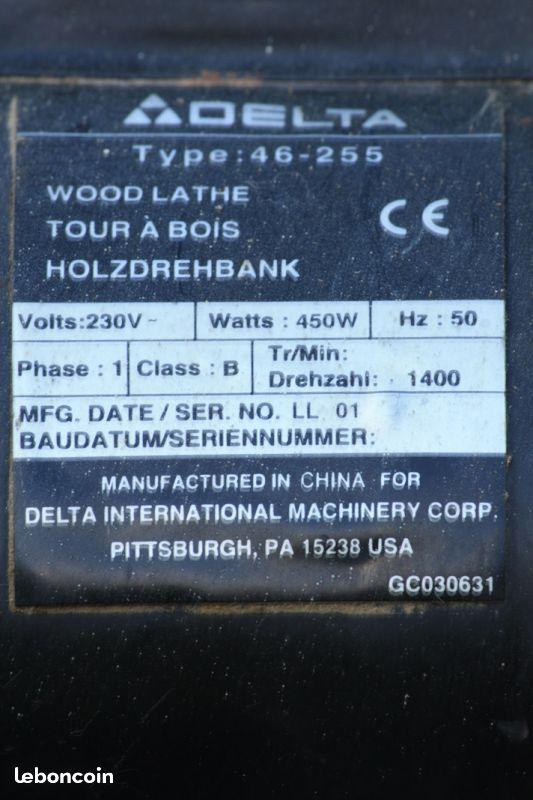 Avis Tour à bois F46-255 occasion 310