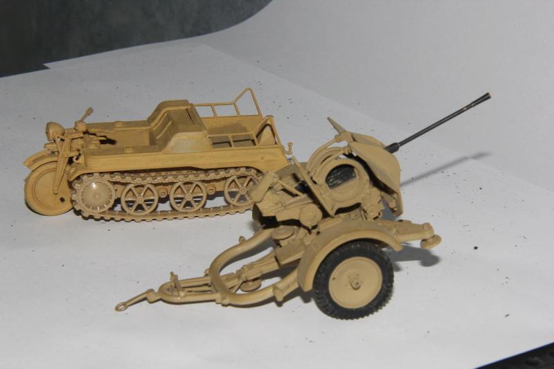 Sd.Kfz. 2 et Flak 38 - Tamiya- 1/35 00111